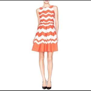 The Limited Chevron Stripe Princess Dress